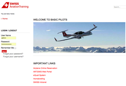 Swiss Aviation Training